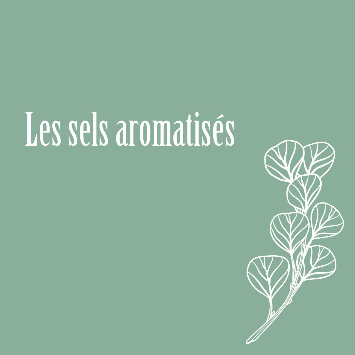 Les sels aromatisés